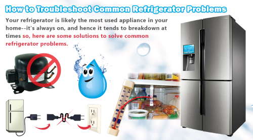 troubleshooting for refrigerators